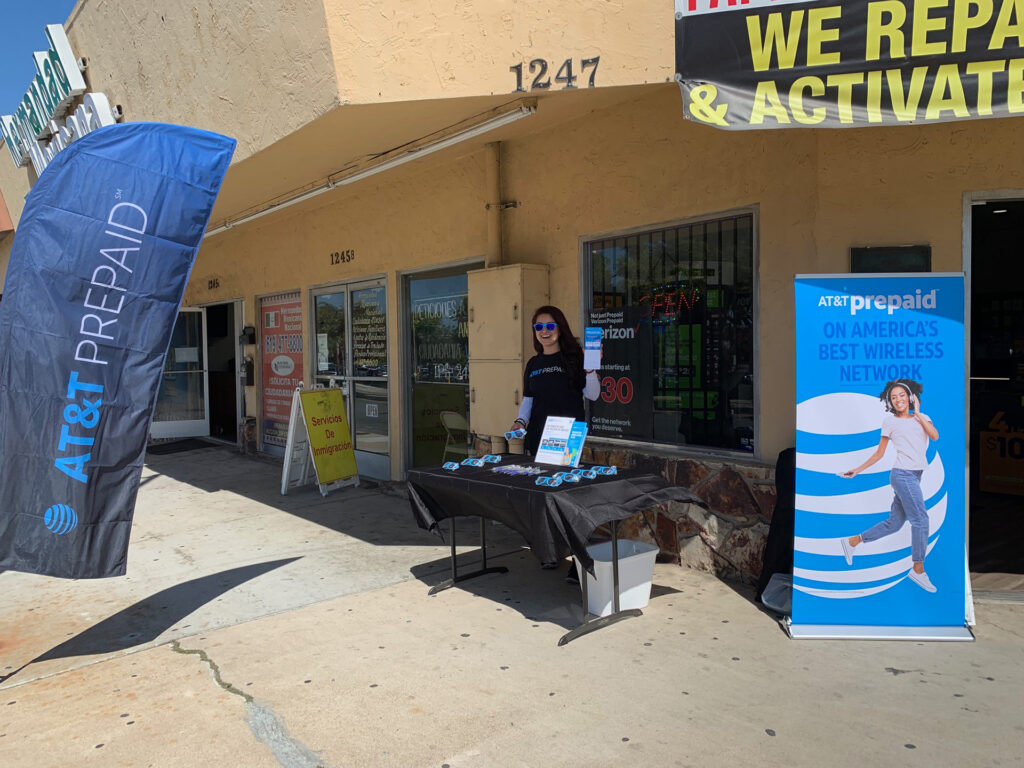Empower Retailer Solutions wireless dealer promo events