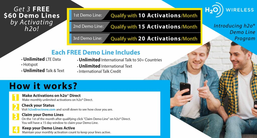 h2o wireless demo line program